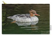 Scaly-sided Merganser Female Carry-all Pouch