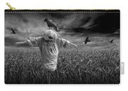 Scarecrow And Black Crows Over A Cornfield Carry-all Pouch
