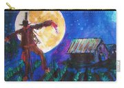 Scarecrow Dancing With The Moon Carry-all Pouch