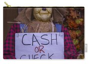 Scarecrow Holding Sign Carry-all Pouch