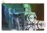 Scarf Camera In Negative Carry-all Pouch