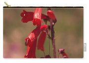 Scarlet Colorado Penstemons Carry-all Pouch