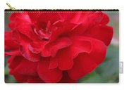 Scarlet Knight Grandiflora Rose Carry-all Pouch