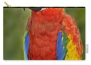 Scarlet Macaw Parrot Carry-all Pouch