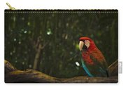 Scarlet Macaw Profile Carry-all Pouch