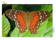 Scarlet Peacock Butterfly Carry-all Pouch