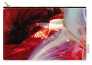 Scarlet Swirls Abstract Carry-all Pouch