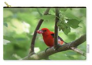 Scarlet Tanager - Fallout Carry-all Pouch