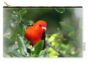 Scarlet Tanager Carry-all Pouch