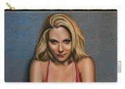 Scarlett Johansson Carry-all Pouch by Paul Meijering