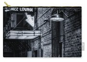 Scat Lounge In Cool Black And White Carry-all Pouch