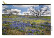 Scattered Bluebonnets Carry-all Pouch