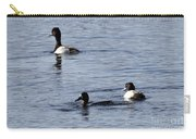 Scaup Ducks In The Spring Carry-all Pouch