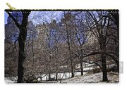 Scene From Central Park - Nyc Carry-all Pouch by Madeline Ellis