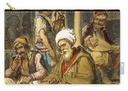 Scene In A Cafe, 1865 Carry-all Pouch
