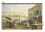 Scene In Bombay, From Volume I Carry-all Pouch