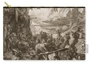 Scene Of Hell, 1731 Carry-all Pouch