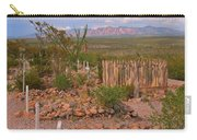Scenic Boothill Cemetery In Tombstone Arizona Carry-all Pouch