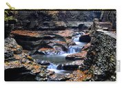 Scenic Cascade Carry-all Pouch by Frozen in Time Fine Art Photography