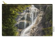 Scenic Of Shannon Fallsbritish Columbia Carry-all Pouch