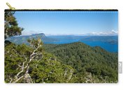 Scenic Urewera Np With Lake Waikaremoana In Nz Carry-all Pouch