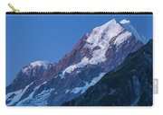 Scenic View Of Mountain At Dusk Carry-all Pouch