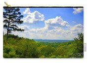 Scenic View Of So Mo Ozarks - Digital Paint Carry-all Pouch