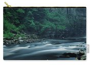 Scenic View Of Waterfall, Teesdale Carry-all Pouch