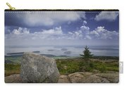 Scenic View With Boulder On Top Of Cadilac Mountain Carry-all Pouch