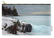 Scenic Winter Lighthouse Carry-all Pouch