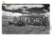 Schellbourne Station And Old Truck Carry-all Pouch by Robert Bales
