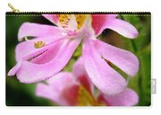 Schizanthus Named Angel Wings Carry-all Pouch