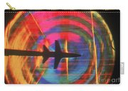 Schlieren Image Of Aircraft Carry-all Pouch by Garry Settles