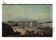 Schloss Schonbrunn, 1759-60 Oil On Canvas Carry-all Pouch