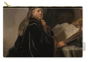 Scholar At His Study Carry-all Pouch