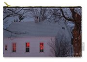 School House Sunset Carry-all Pouch
