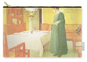 School Household, Dining Room Scene Carry-all Pouch