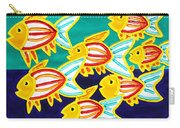 School Of Fish Carry-all Pouch