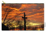 School Totem Pole Sunrise Carry-all Pouch