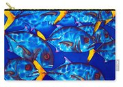 Schooling  Jack Fish Carry-all Pouch
