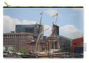 Schooner Arriving At Baltimore Inner Harbor Carry-all Pouch