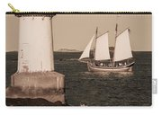 Schooner Sailing Into Harbor Carry-all Pouch