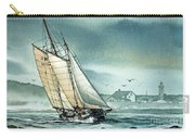 Schooner Voyager Carry-all Pouch by James Williamson