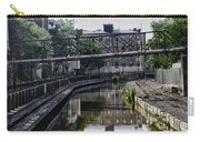 Schuylkill Canal In Manayunk Carry-all Pouch by Bill Cannon