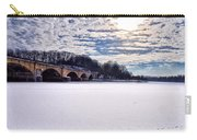 Schuylkill River - Frozen Carry-all Pouch