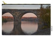 Schuylkill River Railroad Bridge In Autumn Carry-all Pouch