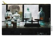Science - Balance And Bottles In Chem Lab Carry-all Pouch
