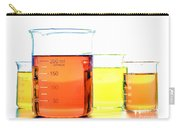 Scientific Beakers In Science Research Lab Carry-all Pouch