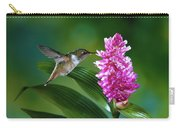 Scintillant Hummingbird Selasphorus Carry-all Pouch
