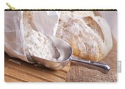Scoop Of Flour And Fresh Bread Carry-all Pouch